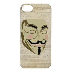 We The Anonymous People Apple iPhone 5S Hardshell Case