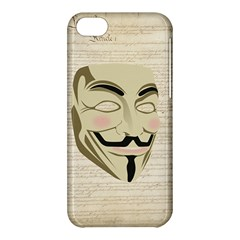 We The Anonymous People Apple iPhone 5C Hardshell Case