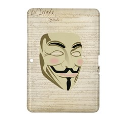 We The Anonymous People Samsung Galaxy Tab 2 (10.1 ) P5100 Hardshell Case