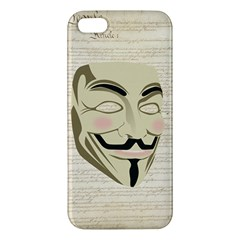 We The Anonymous People iPhone 5S Premium Hardshell Case