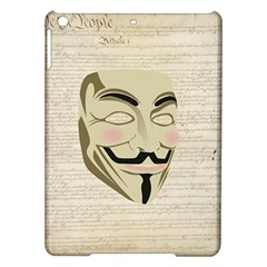 We The Anonymous People Apple Ipad Air Hardshell Case