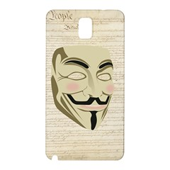 We The Anonymous People Samsung Galaxy Note 3 N9005 Hardshell Back Case