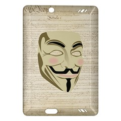 We The Anonymous People Kindle Fire HD 7  (2nd Gen) Hardshell Case