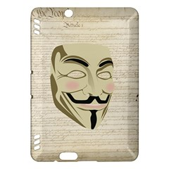 We The Anonymous People Kindle Fire Hdx 7  Hardshell Case