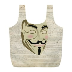 We The Anonymous People Reusable Bag (L)