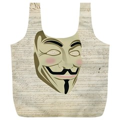 We The Anonymous People Reusable Bag (XL)
