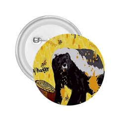 Honeybadgersnack 2.25  Button