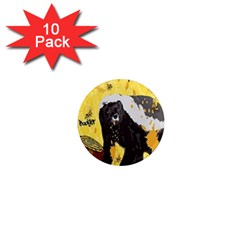 Honeybadgersnack 1  Mini Button Magnet (10 pack)