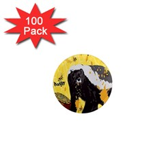 Honeybadgersnack 1  Mini Button Magnet (100 pack)