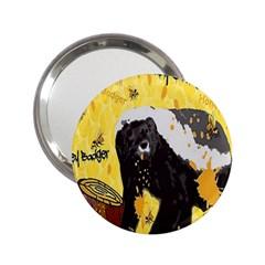 Honeybadgersnack Handbag Mirror (2 25 )