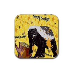 Honeybadgersnack Drink Coasters 4 Pack (square)