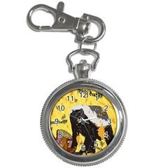 Honeybadgersnack Key Chain Watch