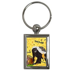 Honeybadgersnack Key Chain (Rectangle)