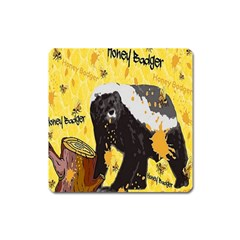 Honeybadgersnack Magnet (Square)