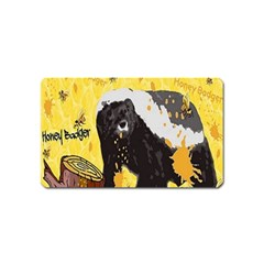 Honeybadgersnack Magnet (Name Card)