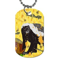 Honeybadgersnack Dog Tag (One Sided)