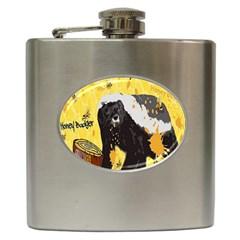 Honeybadgersnack Hip Flask