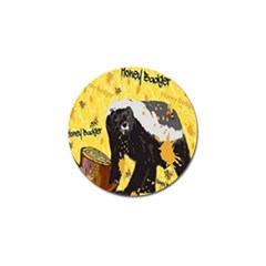 Honeybadgersnack Golf Ball Marker 4 Pack
