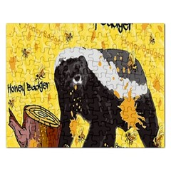 Honeybadgersnack Jigsaw Puzzle (rectangle)