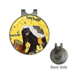 Honeybadgersnack Hat Clip With Golf Ball Marker