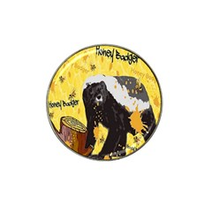 Honeybadgersnack Golf Ball Marker 4 Pack (for Hat Clip)