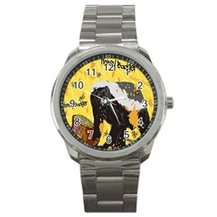 Honeybadgersnack Sport Metal Watch