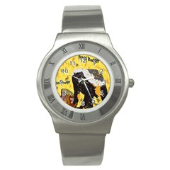 Honeybadgersnack Stainless Steel Watch (Slim)