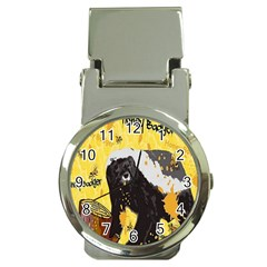 Honeybadgersnack Money Clip with Watch