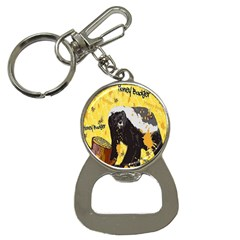 Honeybadgersnack Bottle Opener Key Chain