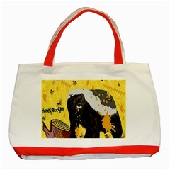 Honeybadgersnack Classic Tote Bag (Red)