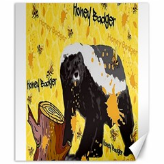 Honeybadgersnack Canvas 20  x 24  (Unframed)