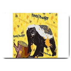 Honeybadgersnack Large Door Mat