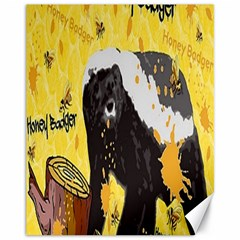 Honeybadgersnack Canvas 11  X 14  (unframed)