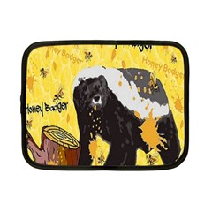 Honeybadgersnack Netbook Sleeve (small)