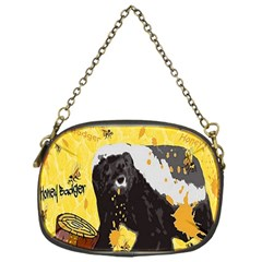Honeybadgersnack Chain Purse (One Side)