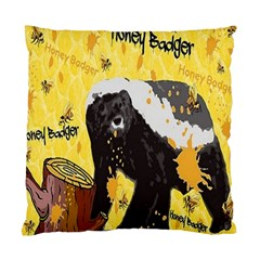 Honeybadgersnack Cushion Case (Single Sided)