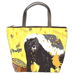 Honeybadgersnack Bucket Handbag