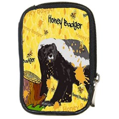 Honeybadgersnack Compact Camera Leather Case