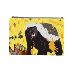 Honeybadgersnack Cosmetic Bag (Large)