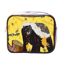 Honeybadgersnack Mini Travel Toiletry Bag (One Side)