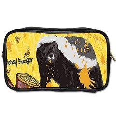 Honeybadgersnack Travel Toiletry Bag (one Side)