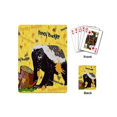 Honeybadgersnack Playing Cards (Mini)