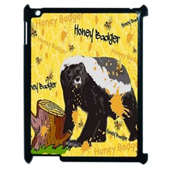 Honeybadgersnack Apple iPad 2 Case (Black)