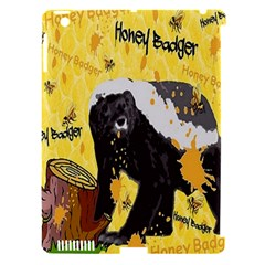 Honeybadgersnack Apple iPad 3/4 Hardshell Case (Compatible with Smart Cover)