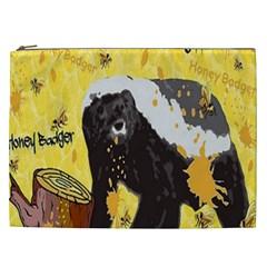 Honeybadgersnack Cosmetic Bag (XXL)