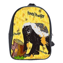 Honeybadgersnack School Bag (XL)