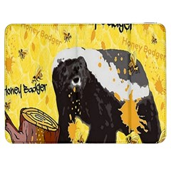 Honeybadgersnack Samsung Galaxy Tab 7  P1000 Flip Case
