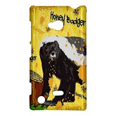 Honeybadgersnack Nokia Lumia 720 Hardshell Case