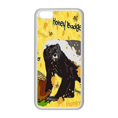 Honeybadgersnack Apple iPhone 5C Seamless Case (White)