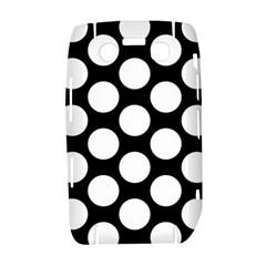 Black And White Polkadot BlackBerry Bold 9700 Hardshell Case